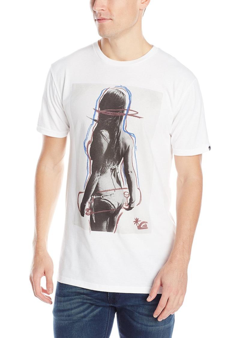 Quiksilver Men's Skate Babe T-Shirt  X-Large