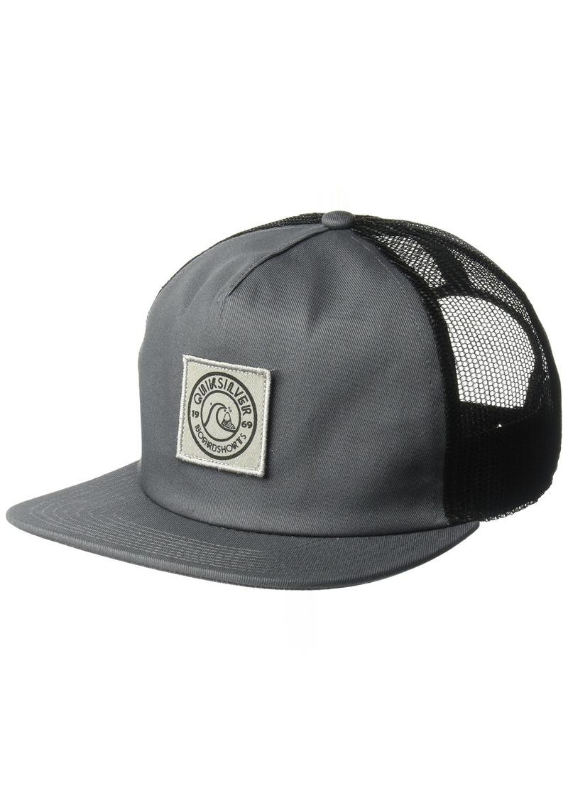 SALE! Quiksilver Quiksilver Men s Slab Ringer Trucker Hat 96230349b70