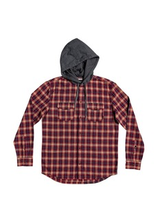 Quiksilver Men's Snap Up Flannel Shirt