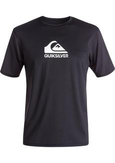 Quiksilver Men's Solid Streak Logo Graphic Swimsuit