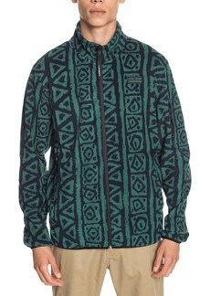 Quiksilver Men's Sound Waves Full Zip Fleece Sweatshirt