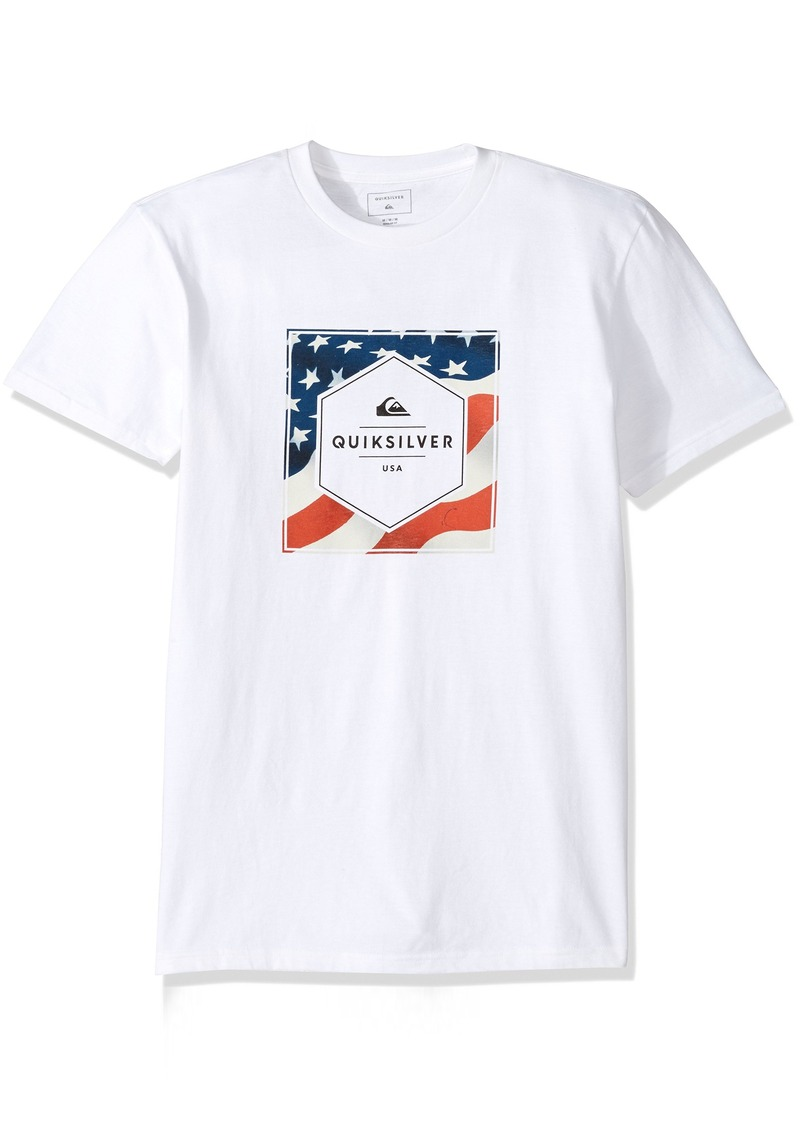 Quiksilver Men's Stars and Stripes Tee