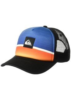 Quiksilver Men's Stripe downer Trucker Hat