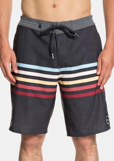 """Quiksilver Men's Stripe 20"""" Board Shorts"""