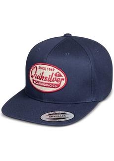Quiksilver Men's Stuck It Logo Snapback Hat