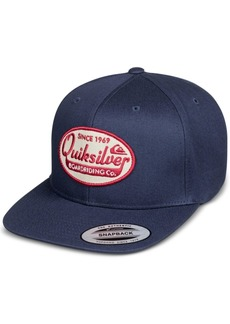 Quiksilver Men's Stuck It Logo Snapback Hat