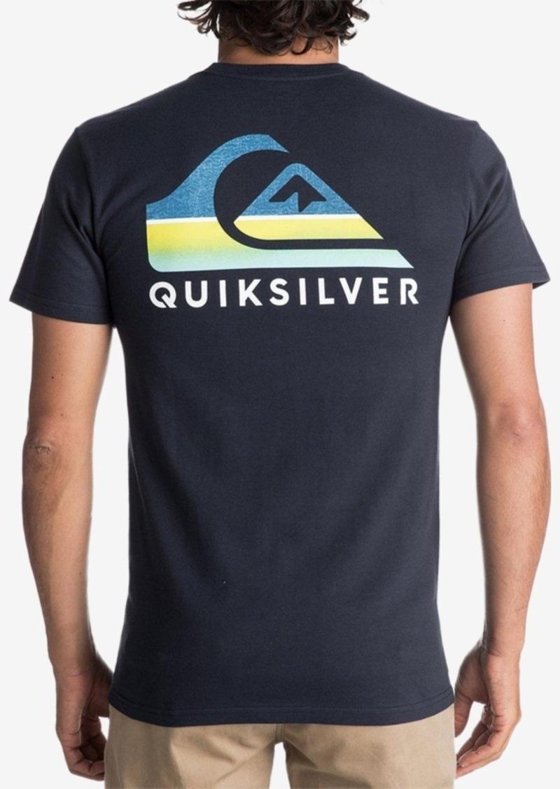 293adea74b628d Quiksilver Quiksilver Men's Swell Vision Logo-Print T-Shirt | T Shirts