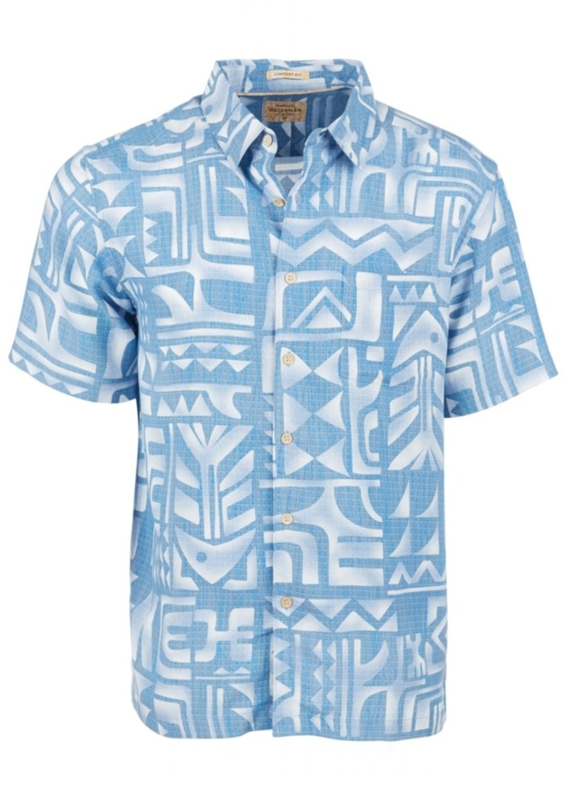 Quiksilver Men's Tama Reef Short Sleeve Shirt