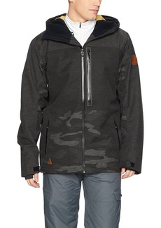 Quiksilver Men's The Cell 20k Insulated Snowboard Ski Jacket  L