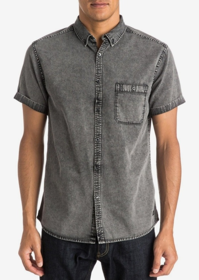 Quiksilver Men's The Clackton Button-Front Shirt