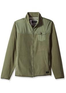 Quiksilver Men's Timberlost Polar Fleece Half Zip Sweater  M