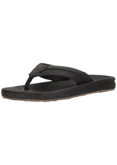 Quiksilver Men's Travel Oasis Sandal Black/Brown 8 M US