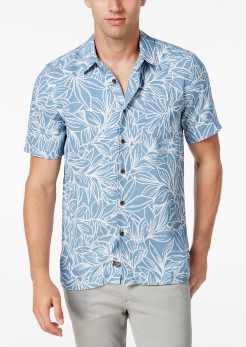 Quiksilver Men's Tropical Foliage Short-Sleeve Shirt