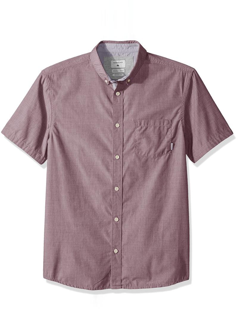 Quiksilver Men's Valley Groove Short Sleeve  L