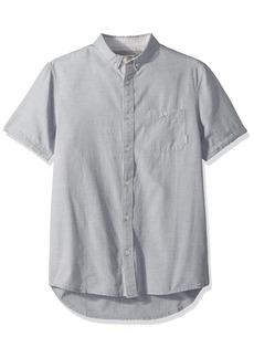 Quiksilver Men's Waterfalls Short Sleeve Update  L