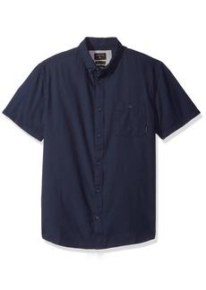 Quiksilver Men's Waterfalls Ss Button Down Shirt  XL