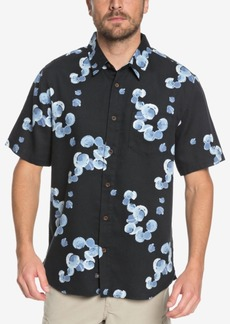 Quiksilver Men's Waterman Collection Plumes Printed Shirt