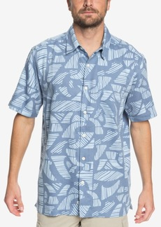 Quiksilver Men's Waterman Collection Printed Shirt