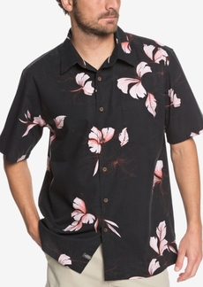 Quiksilver Men's Waterman Kiribati Lagoon Printed Shirt
