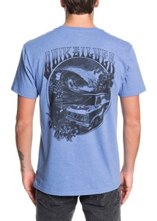 Quiksilver Men's Wave Woman Wheels Short Sleeve T-Shirt