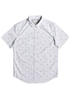 Quiksilver Men's Woven Palm Graphic Shirt