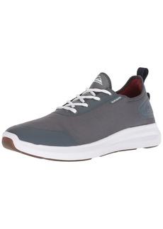 Quiksilver Men's WR LAYOVER Travel Shoe Skate Grey/White