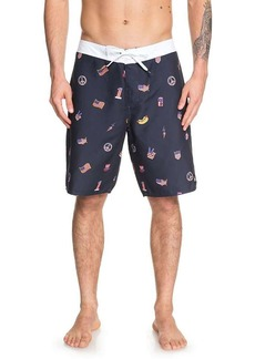 Quiksilver Mens's Everyday Hot Dog 20 Boardshort