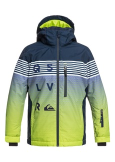 Quiksilver Mission Engineered Waterproof Insulated Jacket (Big Boys)