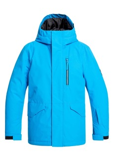 Quiksilver Mission Hooded Snow Jacket (Big Boys)