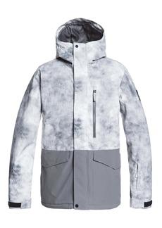 Quiksilver Mission Printed Block Waterproof Jacket