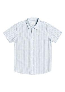 Quiksilver Oxford Lines Button-Up Shirt (Big Boy)
