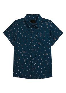 Quiksilver Pacific Short Sleeve Button-Up Shirt (Toddler & Little Boy)