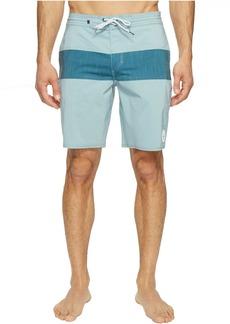 "Quiksilver Panel Blocked 19"" Beach Shorts"