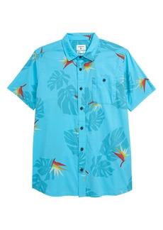 Quiksilver Paradise Button-Up Shirt (Big Boy)