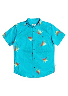 Quiksilver Paradise Button-Up Shirt (Toddler & Little Boy)