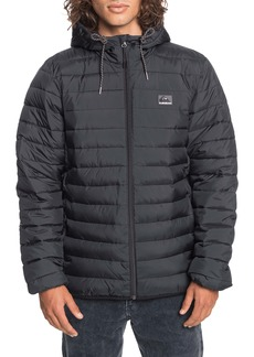 Quiksilver Scaly Hood Quilted Jacket
