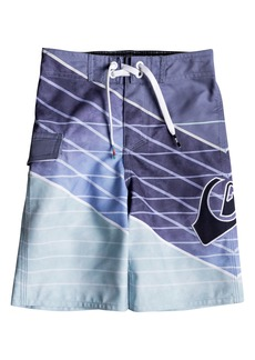 Quiksilver Slash Logo Print Board Shorts (Toddler Boys & Little Boys)