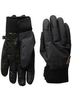 Quiksilver Snow Men's Method Snowboard Ski Gloves black S