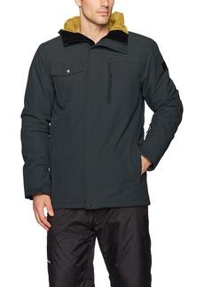 Quiksilver Snow Men's Mission Solid 17 Jacket  L