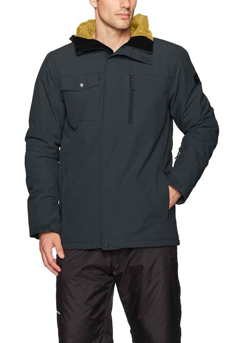 Quiksilver Snow Men's Mission Solid 17 Jacket  L