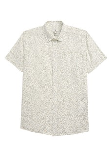 Quiksilver Spilled Rice Short Sleeve Button-Up Shirt (Big Boy)