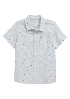 Quiksilver Spilled Rice Short Sleeve Button-Up Shirt (Toddler & Little Boy)