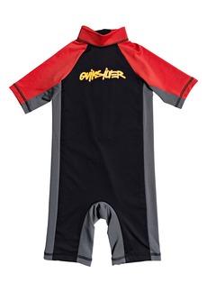 Quiksilver Spring Boy One-Piece Rashguard Swimsuit (Toddler & Little Boy)