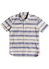 Quiksilver Little Boys Striped Cotton Shirt