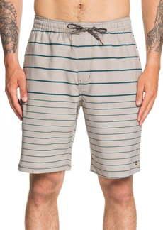 Quiksilver Suva Stripe Amphibian Water Repellent Shorts