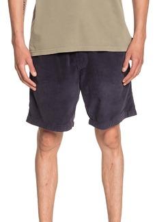 Quiksilver Taxer Corduroy Drawstring Shorts