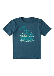 Quiksilver The Palm & The Board Graphic Tee (Toddler & Little Boy)