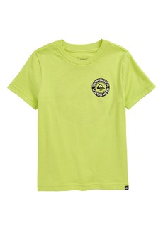 Quiksilver Time Circle Graphic Tee (Toddler & Little Boy)