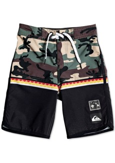 Quiksilver Toddler & Little Boys Camo-Print Swim Trunks