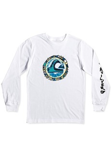 Quiksilver Toddler & Little Boys Cotton Long-Sleeve T-Shirt